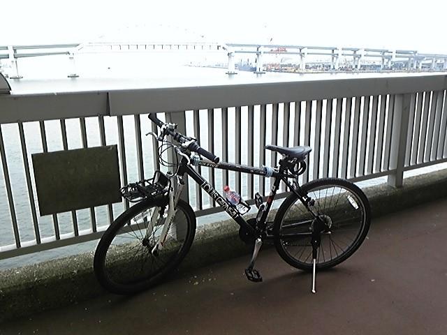 六甲アイランドへの自転車での ...